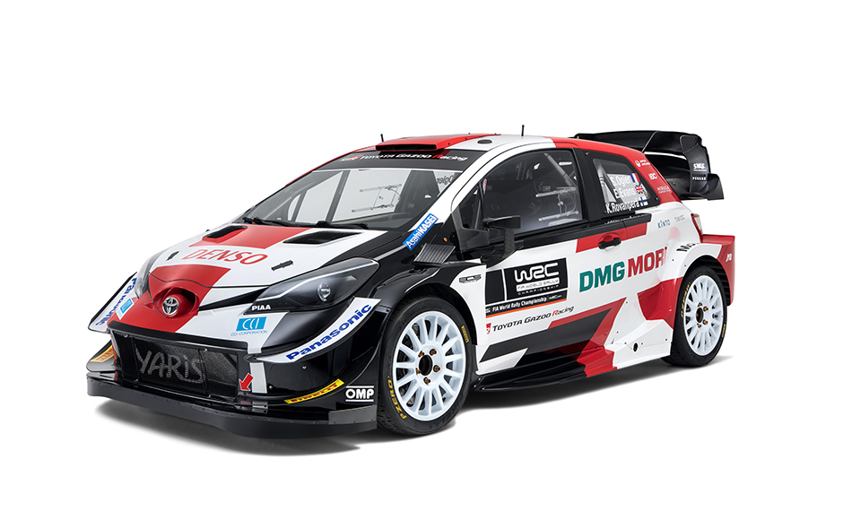 Toyota reveals new 2021 Yaris WRC livery