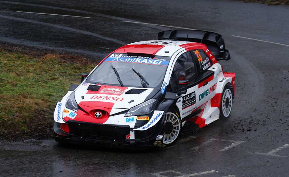 Evans leads Rallye Monte Carlo after Friday