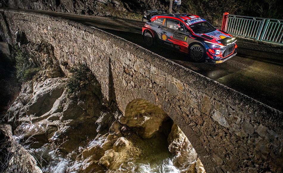 Tänak retires from Rallye Monte Carlo