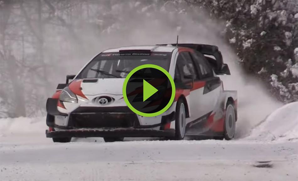 Evans test WRC Rallye Monte Carlo 2021