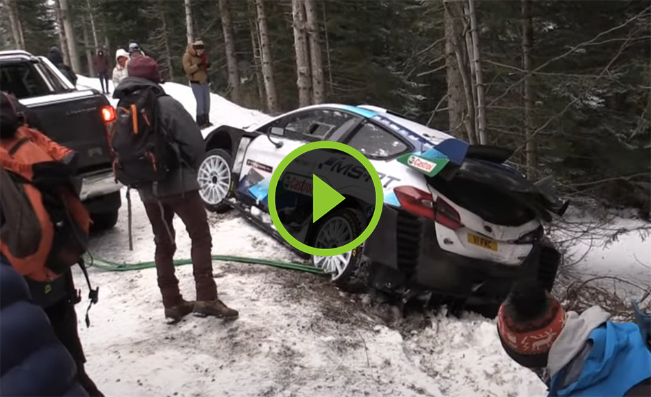 Greensmith test Rallye Monte Carlo 2021