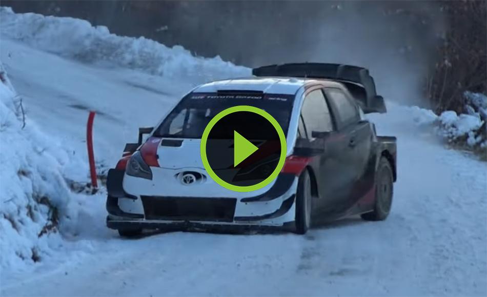 Ogier test Rallye Monte Carlo 2021