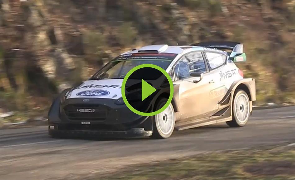 Suninen test Rallye Monte Carlo 2021