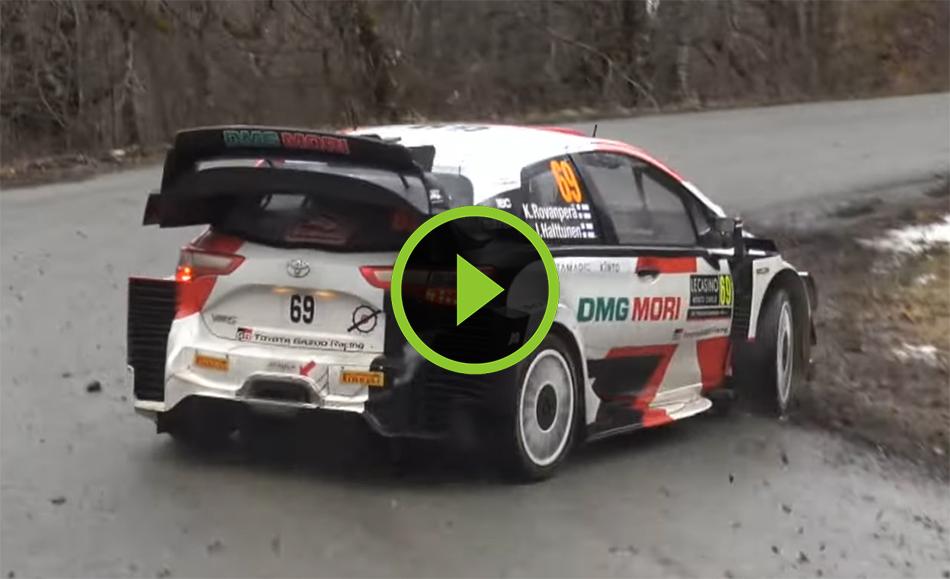 WRC Rallye Monte Carlo Day 1