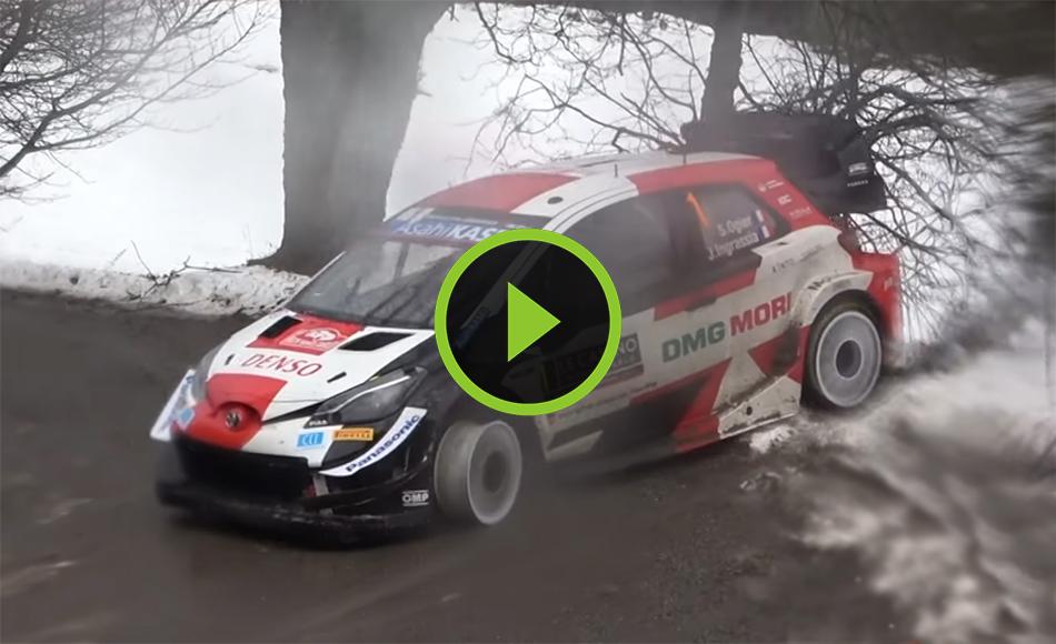 WRC Rallye Monte Carlo 2021 Day 2