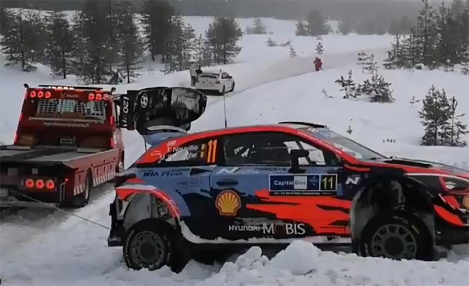 Tänak tops Arctic Rally Finland shakedown
