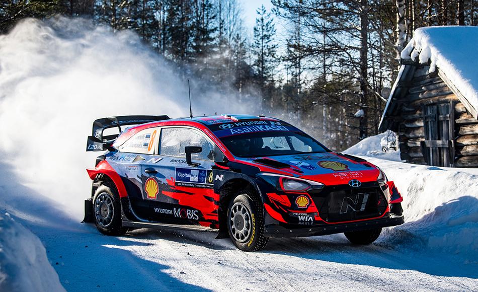 Tänak wins Arctic Rally Finland