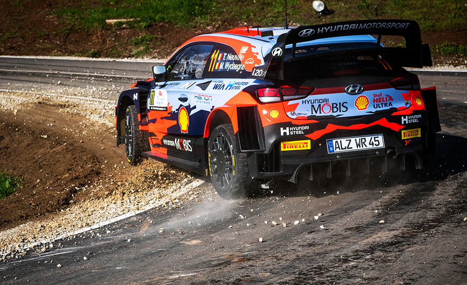 Neuville heads Ogier, Evans after Croatia Rally Day 1
