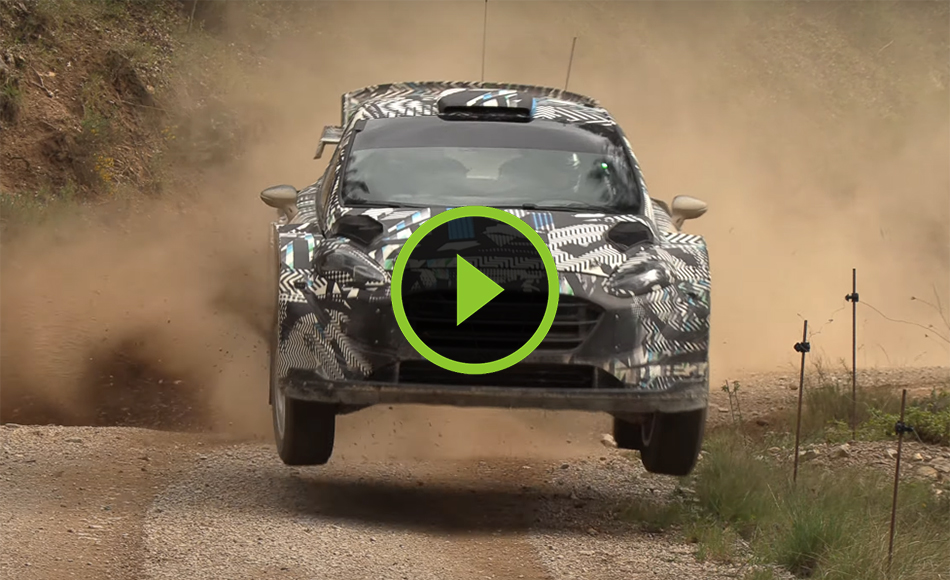 Test M-Sport Ford Rally1 Hybrid 2022 | Fourmaux