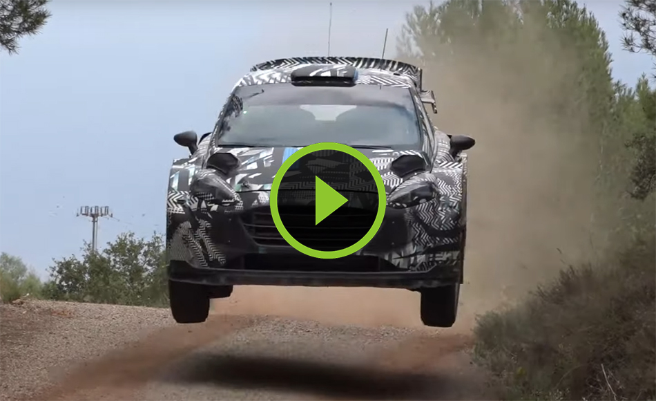 Test M-Sport Ford Fiesta Rally1 2022 Spain