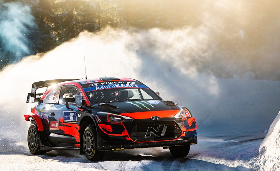 Oliver Solberg back with i20 WRC in Rally Italia Sardegna